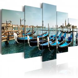 Obraz  Benátský kanál
