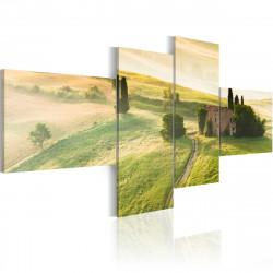 Obraz  Idylická toskánská krajina