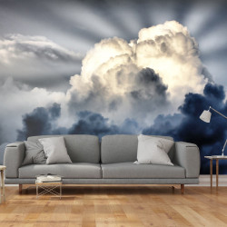 Fototapeta  Rays in the sky