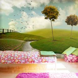 Fototapeta - podzim - krajina