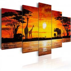 Obraz  Hot Safari