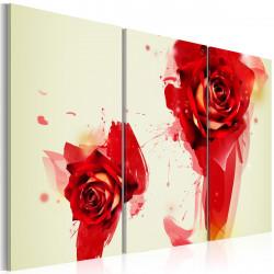 Obraz  Jiný pohled na růže