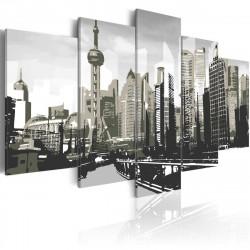 Obraz  Šanghaj  největší čínské město