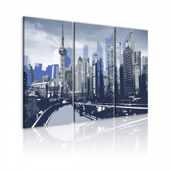 Obraz  Shanghai urban landscape