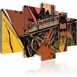 Obraz  Jazzy NYC