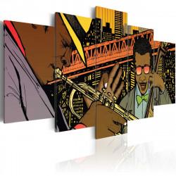 Obraz  Jazz in comic