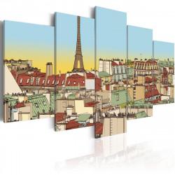 Obraz  Idyllic parisian picture
