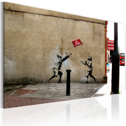 Obraz  No ball games (Banksy)