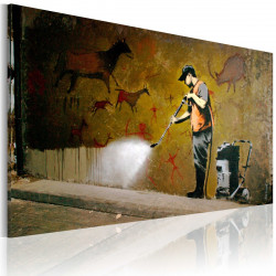 Obraz  Whitewashing Lascaux (Banksy)