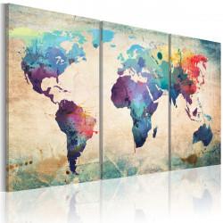 Obraz  Svět malované vodou barvami